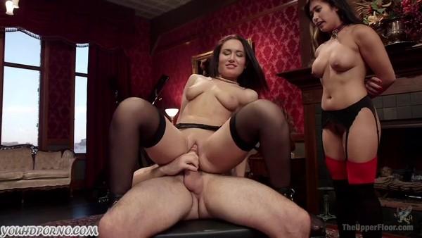 БДСМ порно с участием азиатки и ее подружки
