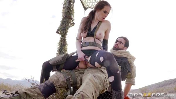 Metal Gear Solid (XXX пародия): Веном Снейк трахает Молчунью