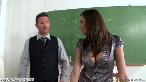 Голодная до секса училка