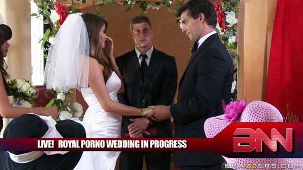 Порно свадьба Маделин Мари