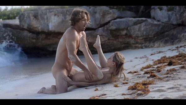 Обалденный секс на пляже