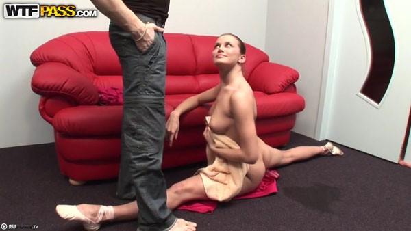 Русская гимнастка трахается с дружком